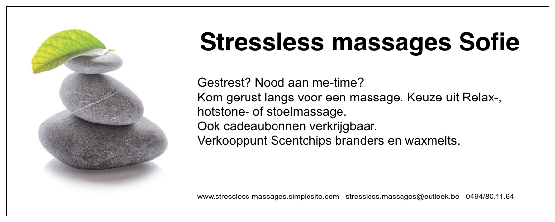 Stressless massages Sofie
